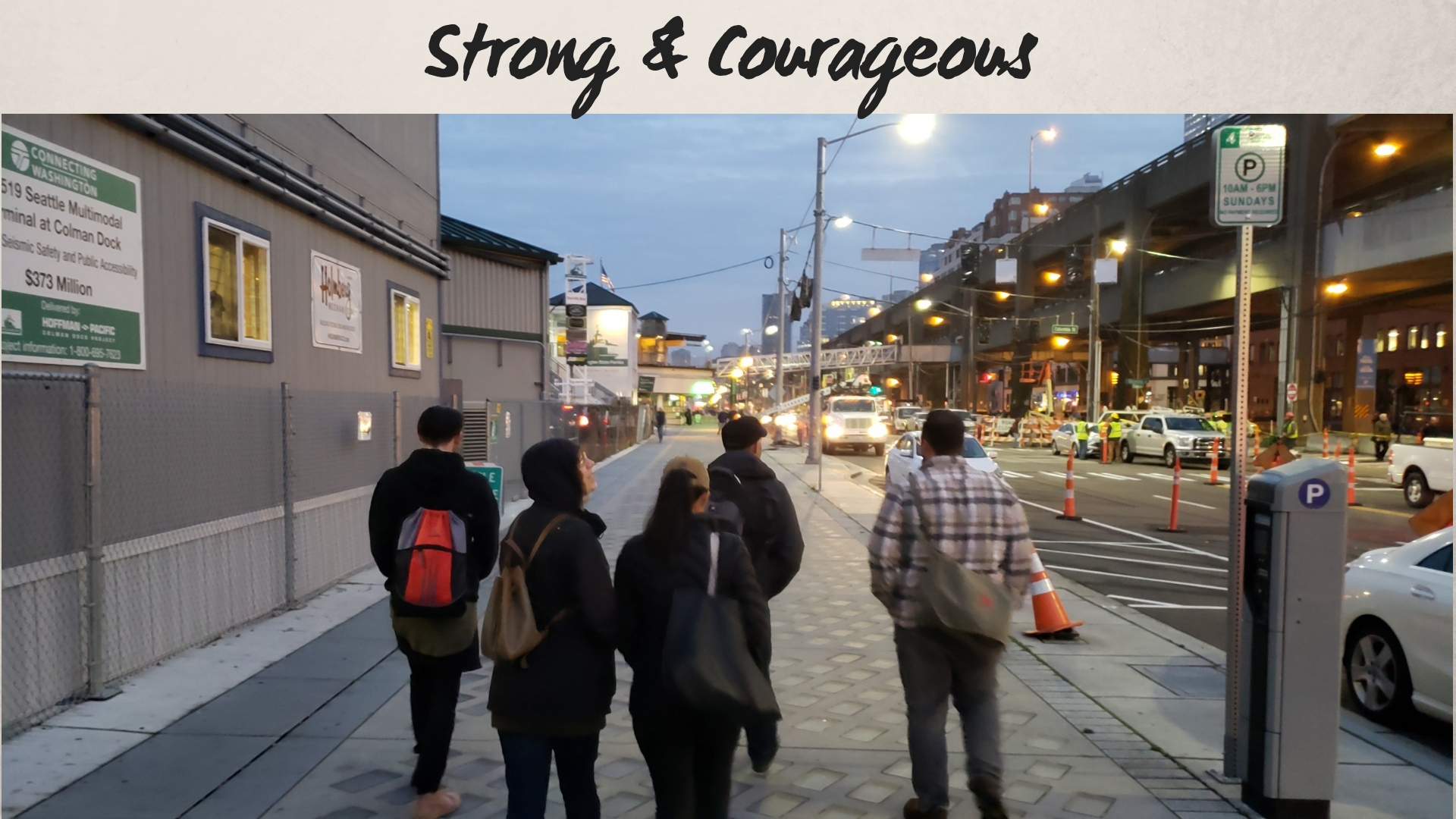 Things Above — Strong & Courageous