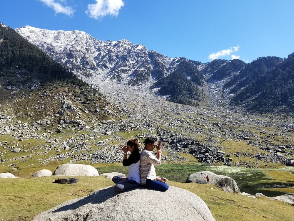 trek to kareri lake - October 19-26, 2019. Dharamshala, Himachal Pradesh.
