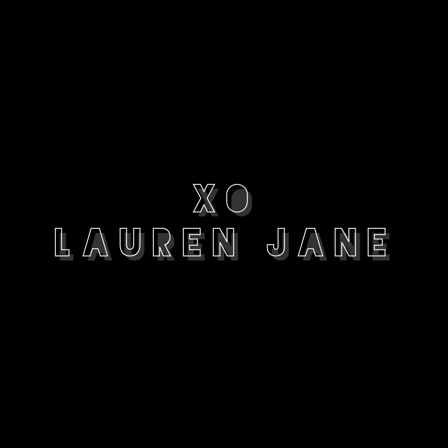 XO LAUREN JANE