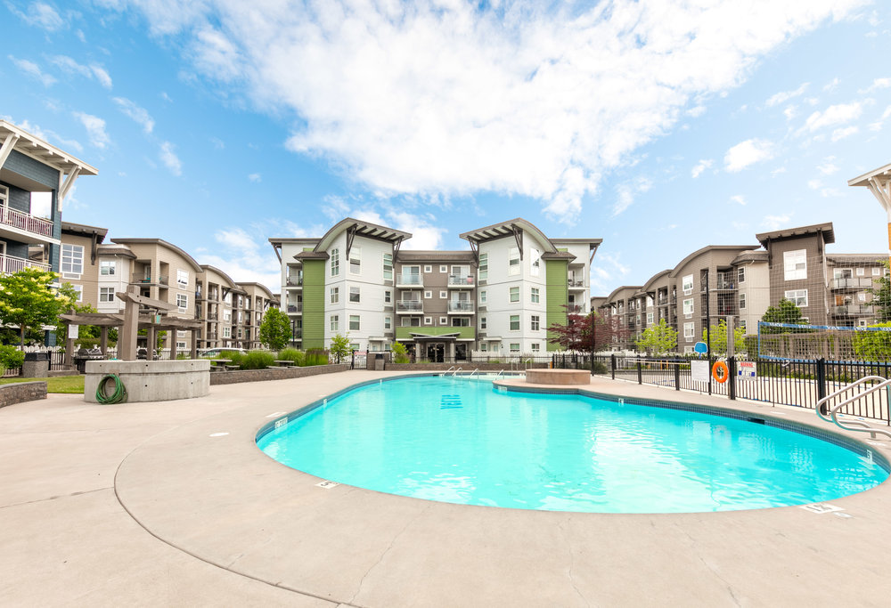 PET FRIENDLY - The Verve is one of the most pet-friendly communities in the Central Okanagan. The Verve allows either 1 dog and 1 cat, 2 dogs or 2 cats. Dogs up to 80 lbs. on ground level units and 40 lbs. on 2nd, 3rd and 4th floor units.