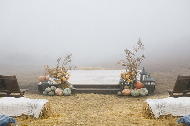 In honor of it being Thanksgiving week we're featuring posts from this incredible fall harvest wedding all week!  Our sea view meadow was completely transformed with hay bales, pumpkins, fall branches and lanterns. Then that beautiful coastal fog decided to make an appearance to give us the ultimate moody fall vibes!  @winsomeandwright | @wilderfloralco | @silkandwillow|  @tinkertintrailerco | @fieldtotableevents |@sidecar_slo | @swallowcreekranch | @ruedesinebridal | @btarr_hairmakeup | @cbbakeshop | @gracelorenzenevents | @elaneventrentals | @otisandpearl | @centralcoasttentandparty | @markbrownfilms | @deadwintercarpenters | @thefindlab  #happyfallyall #fallwedding #fallinginlove #swallowcreekranch #seaviewmeadow #ranchwedding #barnwedding #coastalranchwedding #californiawedding  #cayucoswedding #sanluisobispowedding #slowedding #centralcoastwedding #centralcoastweddingvenue #californiaweddingvenue  #805wedding  #swallowcreekweddings