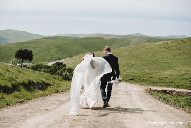We love witnessing the bride and groom running off to their future and this beautiful shot captures that beautifully!  photo cred: @loveridgephotography  #runningtothefuture #swallowcreekranchwedding #swallowcreekranch  #ranchwedding #barnwedding #coastalranchwedding #californiawedding  #cayucoswedding #sanluisobispowedding #slowedding #centralcoastwedding #centralcoastweddingvenue #californiaweddingvenue  #805wedding  #swallowcreekweddings
