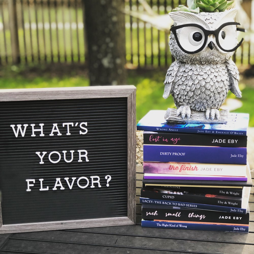 2 - I write novels and have published 20+ books! I write across all genres. So…what's your flavor?