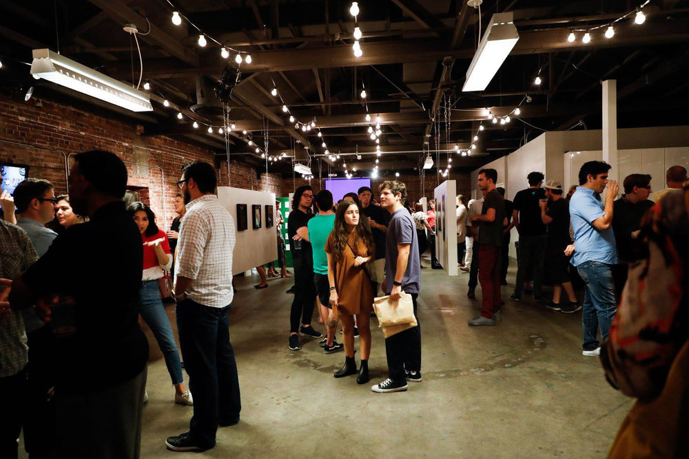 Support local art by representing local artists. -