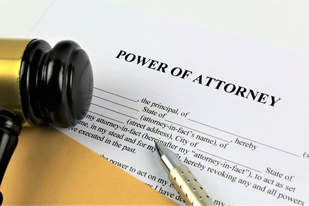 Power of Attorney DC
