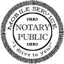 Mobile Notary That Comes to You