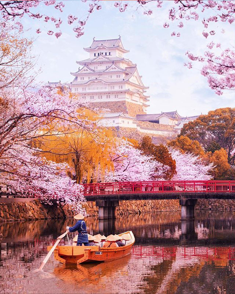 @MikeVisuals  got to visit Japan in the spring where the Sakura (cherry blossoms) bloom for a few weeks. They come and go extremely quickly so plan wisely!