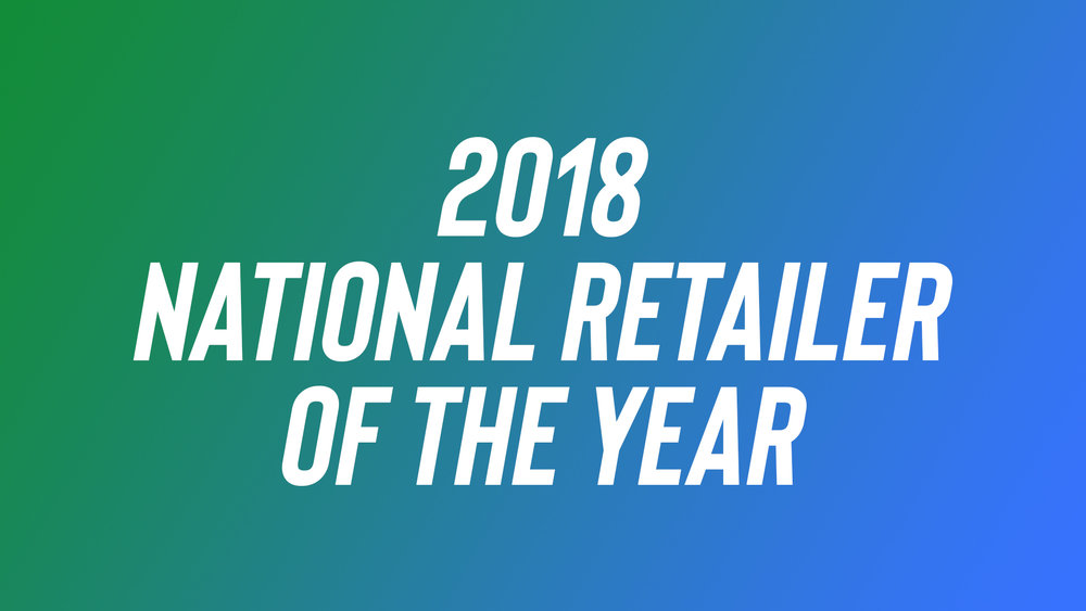 2018 National Retailer of the Year