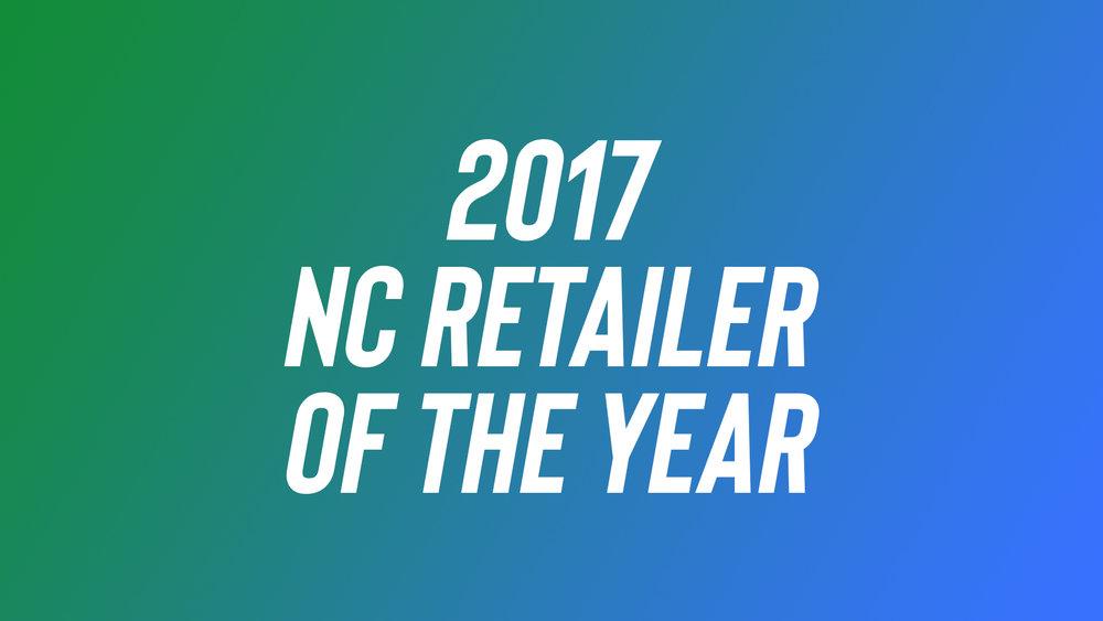 2017 North Carolina Retailer of the Year