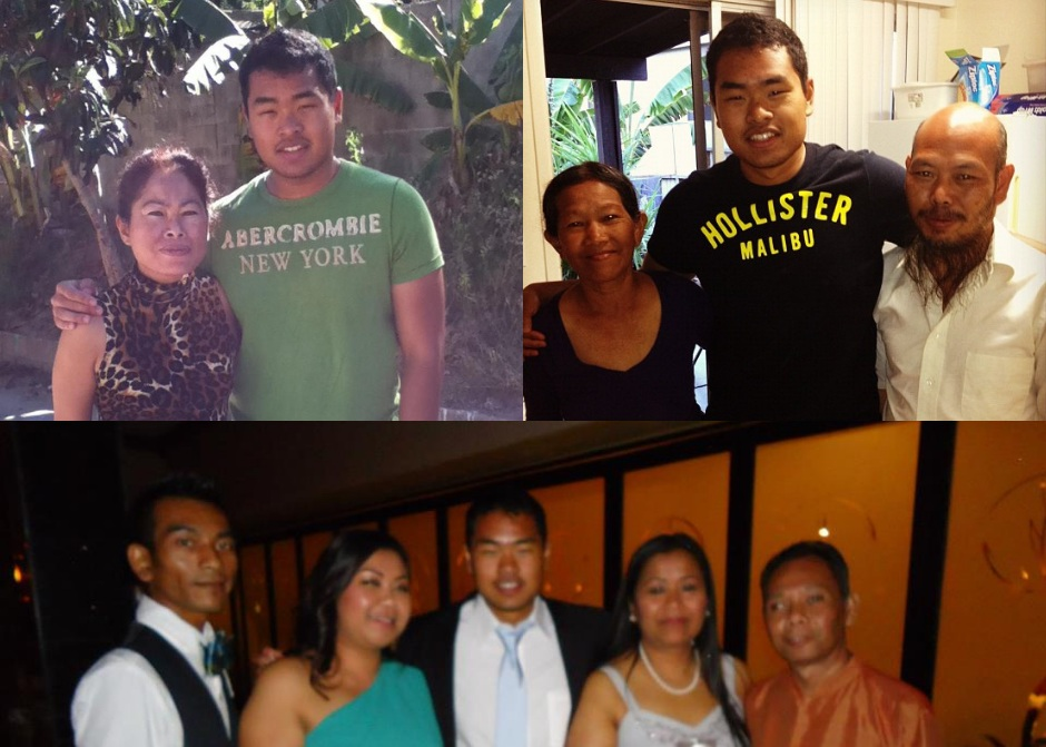 2012 - I flew out to Fort Worth, Texas, to reconnect with my god family and learn more about my early childhood. After spending two weeks there, I flew to San Diego to reunite with my biological mom, grandma, and met my biological father for the first time.