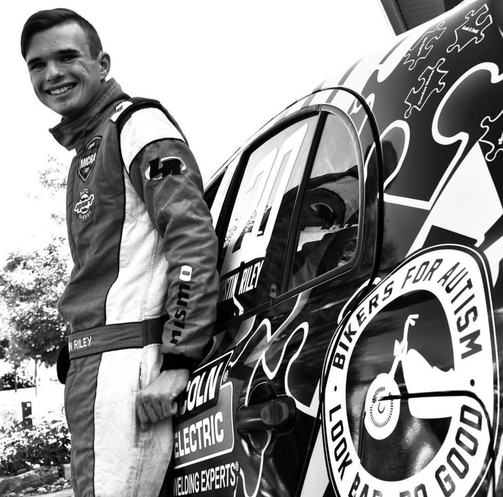 Austin Riley - Racing With Autism
