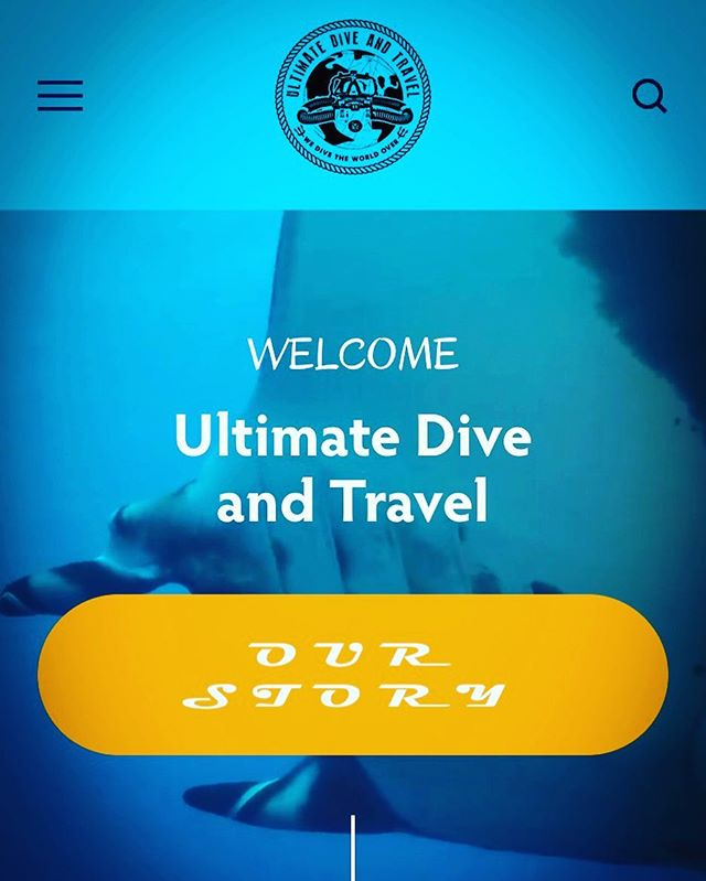 Our NEW website has launched! Still has some tweaks that will be fixed but stop by and take a peek! New features will be added soon! 💻 📡 🎉 #scubadiving #newwebsite #websitedesign #travel #gotravel #ultimatediveandtravel #new #outwiththeold #arizona #scottsdale #local #business #somethingnew #supportlocal