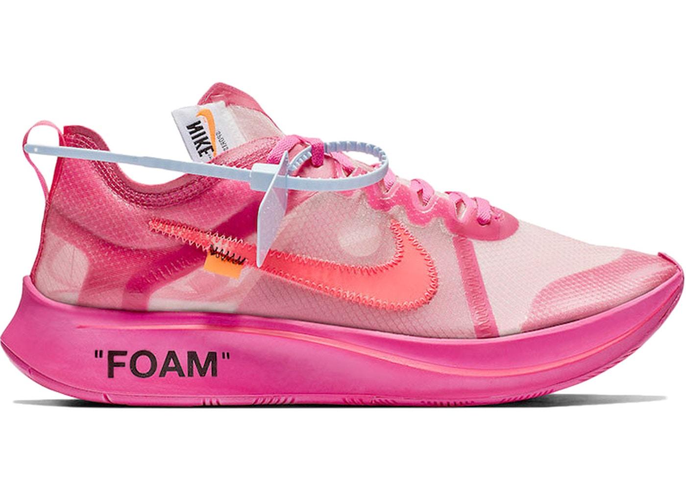 Nike Zoom Fly Off,White , Pink drop \u2014 Purcop.
