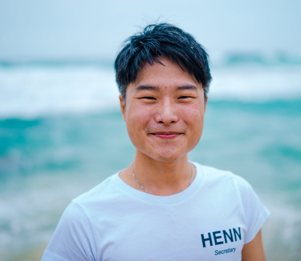 SecretaryHenness Wong - Henness is the #wholesome in the #GHC19 mothership, looking after the crew members and the treasure chest. He is only one email away as your go-to person for any questions. Henness is an international student from Hong Kong, enjoying the immediate proximity to the ocean and hiking trails at the University of Wollongong.