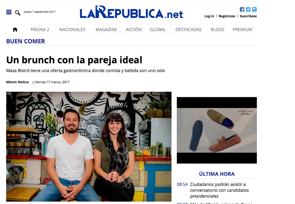 La Republica - Un Brunch