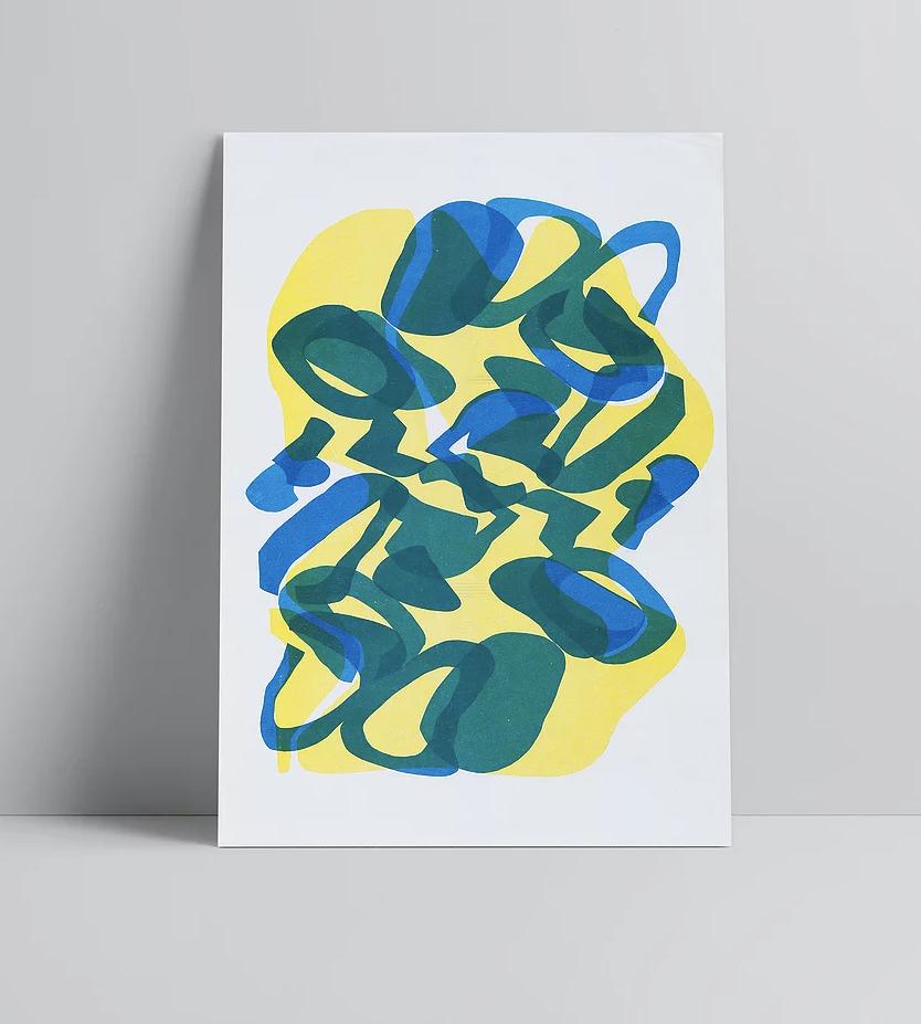Lucy Grainge - OEOEO - A3 Print