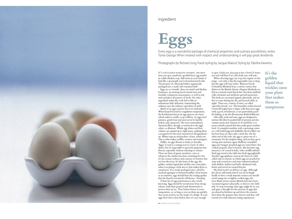 Ingredient: Eggs, Waitrose Food Illustrated