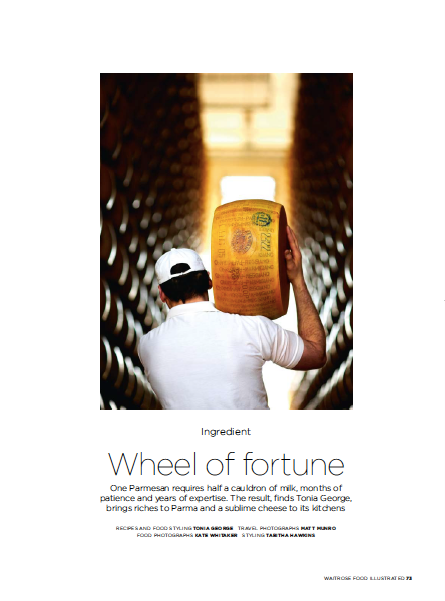 Wheel of Fortune, Waitrose Food Illustrated