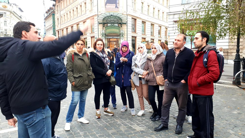 New Roots - Migrantour intercultural walks building bridges for newcomers active participation