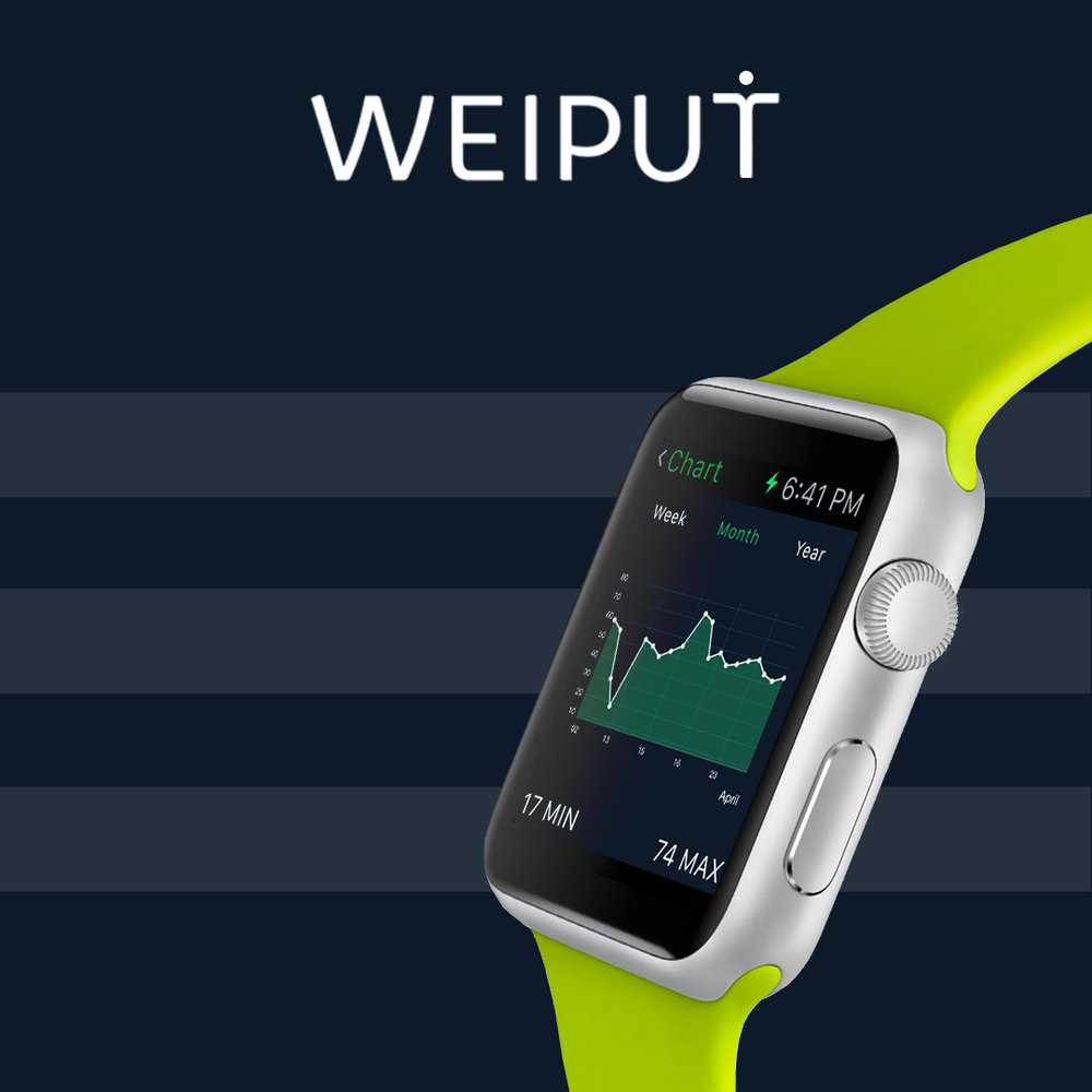 Track your weight right from a wrist