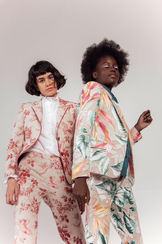Suit Querubines + Suit Tropicalia Beige
