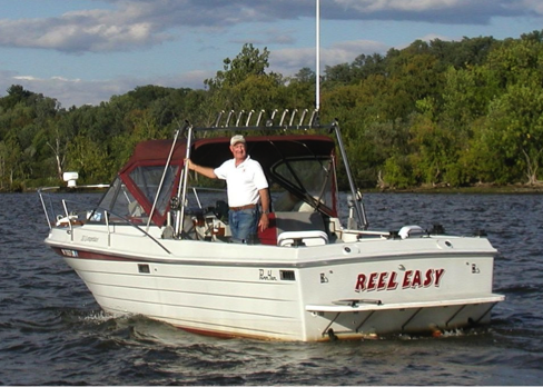 Captain Jay aboard Reel Easy