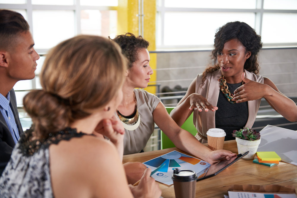 Identify problems by listening to and engaging with employees on a variety of levels