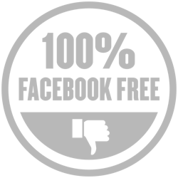 This is a 100% Facebook-free business. That means you won't find me marketing on Facebook or Instagram. You're welcome ;)