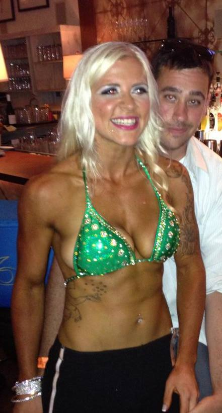 Focusing on the main goal of being lean and weighing x amount of lbs 2013 Fitness America Miami placed last