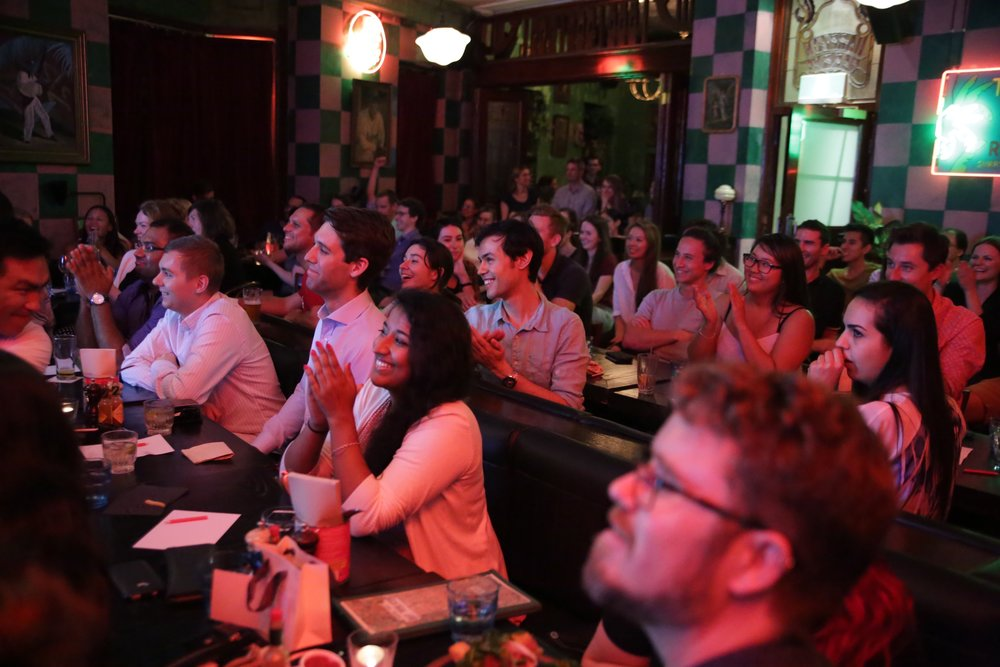 Gamified Virtual Learning: Digital Experience Points - (October, 2017) NERD Nite. New York.