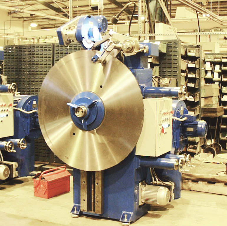 Mastergrinder saw blade repair machinery