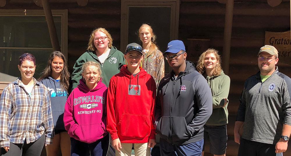 2018 Aquatic Ecology at Gratiot Lake Summer Youth Expedition!