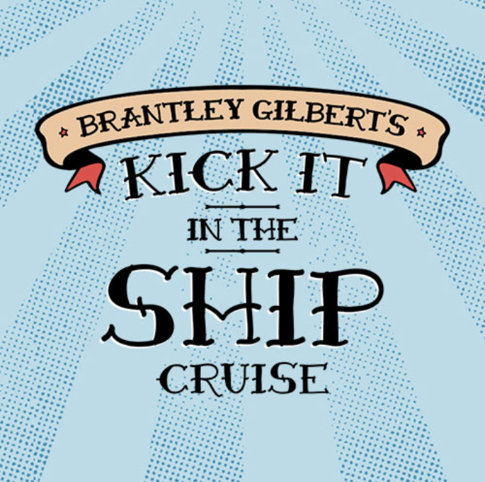 kick it in the ship - Big Machine Label Group artist, Brantley Gilbert's first-ever music cruise sold out in 3 days, and featured the Big Machine Vodka Slushies.