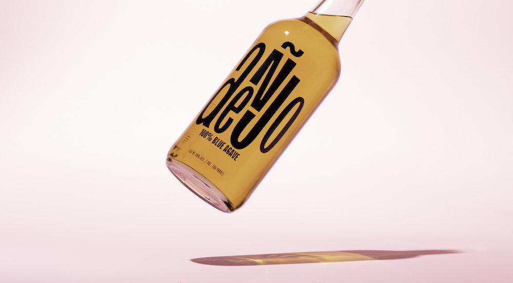 Anejo- Tequila Bottle Design