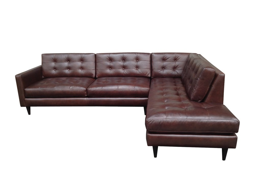 Leather Sofas and Sectionals | BuildASofa Custom Sofas and ...