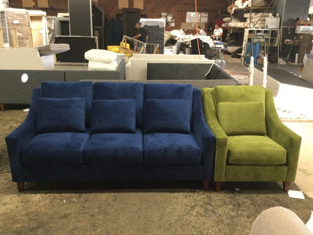 Belfast Sofa and Chair