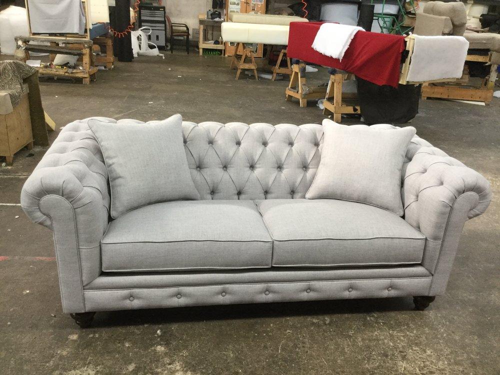 Chesterfield Condo Sofa