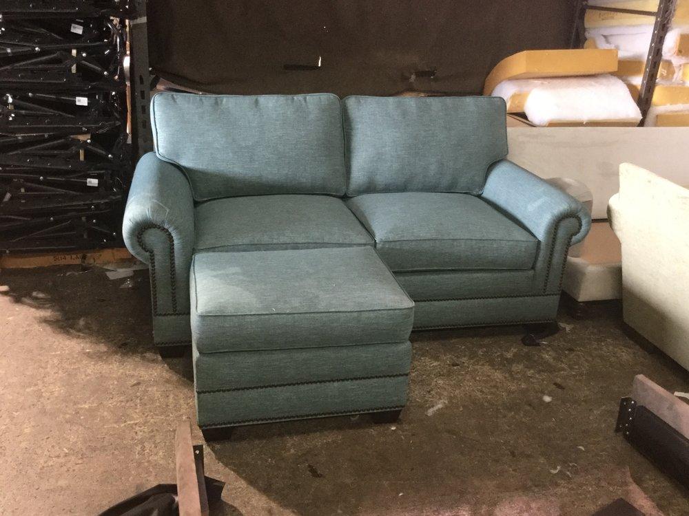 Lexington Sofa and Ottoman
