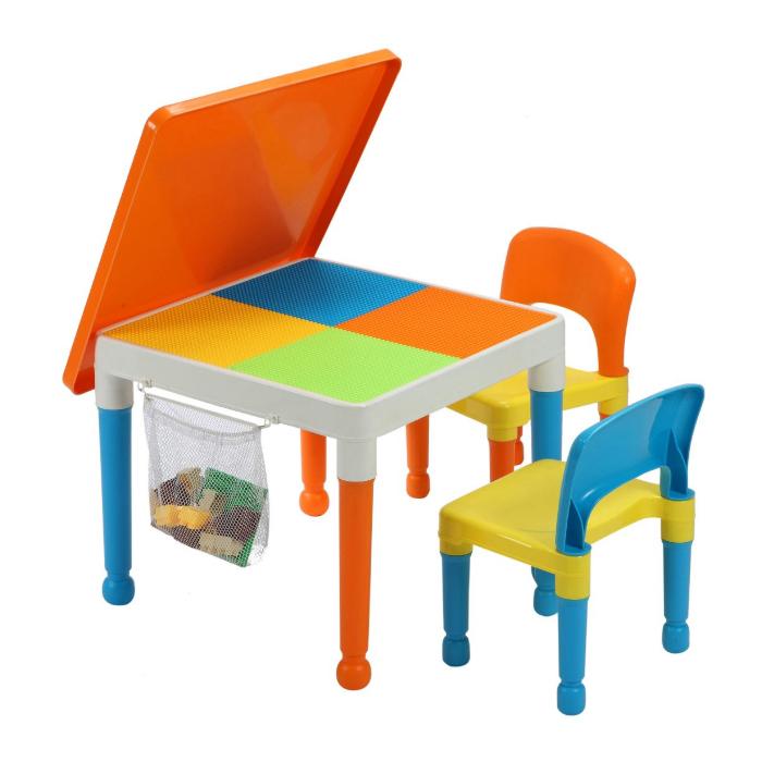 MULTIPURPOSE LEGO TABLE u0026 2 CHAIRS  sc 1 st  The Kids Warehouse & MULTIPURPOSE LEGO TABLE u0026 2 CHAIRS u2014 The Kids Warehouse