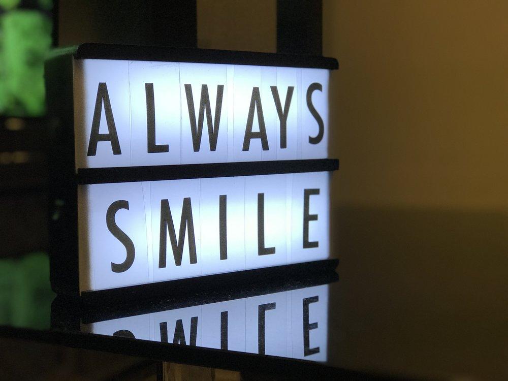 Smiling with Mahaffey Orthodontics