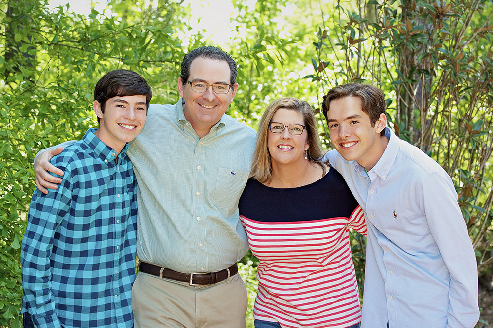 Orthodontist Dr. Michael Mahaffey and His Family