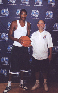 The Foul Shot Doc & Trevor Ariza at the Orlando Magic Training Facility