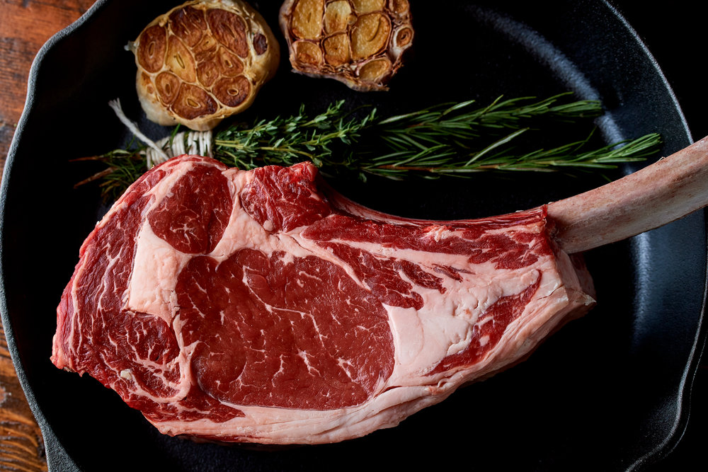 Locally grown, 100% all-natural, non-GMO verified, pasture raised beef. -