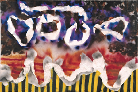 Sidney Nolan, Abstract, 1986 © Sidney Nolan Trust