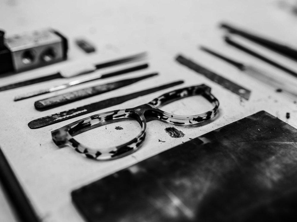 hand made Mazzuchelli Acetate frames