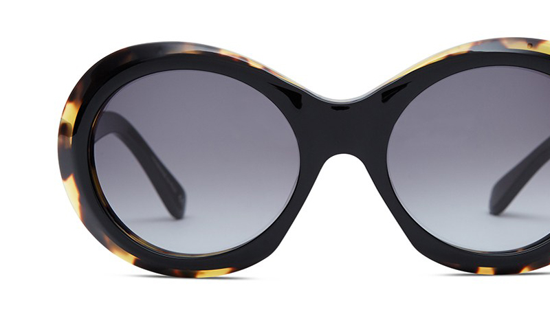 Sunglasses zyl acetate titanium surgical steel acrylic