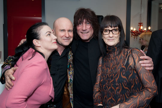 Strangely Normal's Claire and Michael with the Lucks. Looking good in your new Cutler and Gross