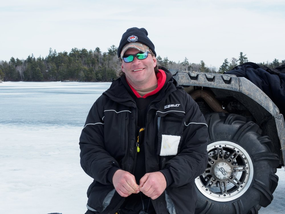 My name is Rob Manthei. I own and operate Fibber's Bar and Restaurant along with St. Germain Lodge and Rentals. I am also a full time fishing guide. I enjoy the outdoors whether it is hunting or fishing. When it comes to fishing, I prefer to chase predatory fish, that is fish with teeth!! Muskies, pike, and walleyes are my favorite species. I guide for muskies and walleyes throughout northern Wisconsin and spend considerable time in northwestern Ontario as a guest instructor for Andy Myers Lodge. Besides guiding, I appear several times a year with John Gillespie, fish competitively in the MWC walleye circuit, of which I finished team of the year in 2004. Although I have a very busy schedule, I always like to find time to take my wife Kaye and the boys (Zach and Cody) fishing when ever possible. I am also a field editor for Esox Angler/The Next Bite Magazine and co-author an article for Wisconsin Sportsman with Pete Maina every spring. -