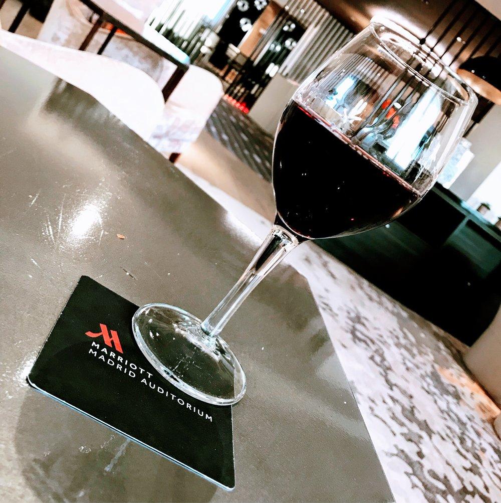 Cabernet Sauvignon in the lounge