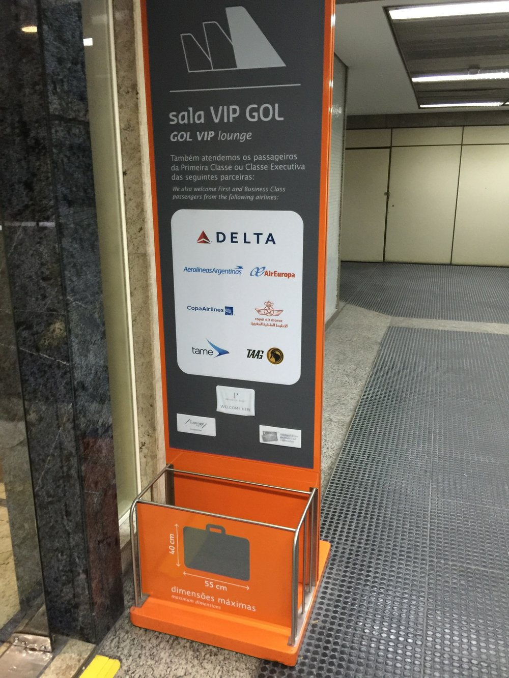 São Paulo has no Sky Club, but Delta One passengers have access to the GOL VIP Lounge